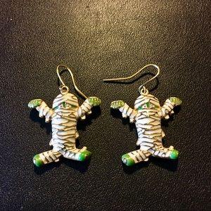Mummy Dangle Earrings 🕸🧟♂️